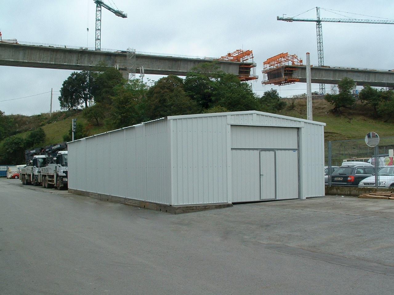 Hangar pliable et modulaire PLENAVE 7.3