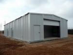 Atelier industriel préfabriqué démontable PLENAVE 10.4 - Saint Vulbas (France)