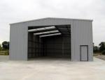 Nave plegable modular prefabricada. - PLENAVE 12.5 en Rennes (Francia)