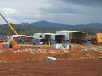 Nave desmontable provisional PLENAVE 7.3 y 12.5 Doko (Congo)