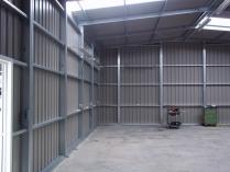 Nave desmontable almacén provisional PLENAVE 10.4 Almussafes (Valencia)