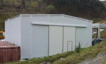 Galpón industrial desmontable PLENAVE 12.5 Amorebieta (Vizcaya)