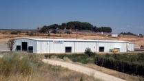 Naves prefabricadas plegables PLENAVE 24.7 planta termosolar 2.300 m2 (Lérida)