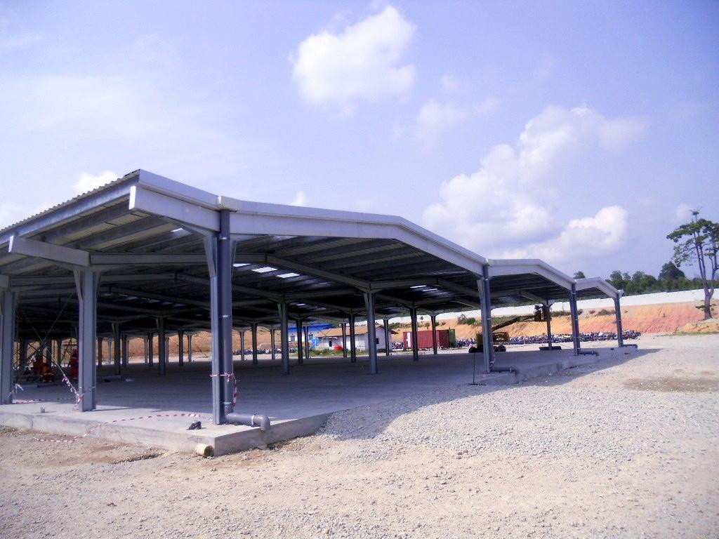 Structure métallique modulaire