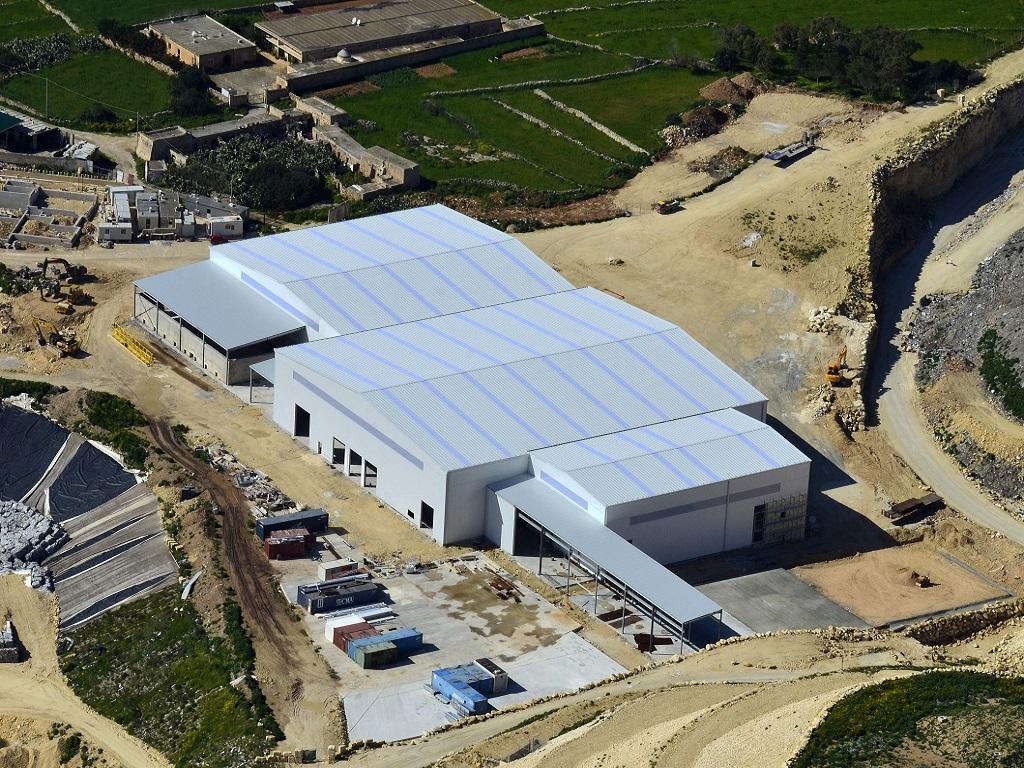 Bâtiments industriels métalliques