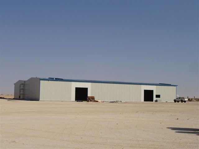 Hangar industriel métallique démontable